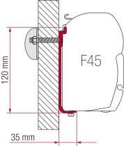 Fiamma F45 adapter AS 350