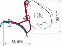 Fiamma F35 Pro adapter - Renault Trafic, Opel Vivaro 2001-2014