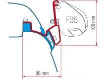 Fiamma F35 Pro adapter - VW T5/T6 California