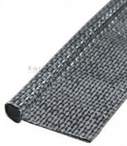 Textil kéder 7 mm-es, szürke