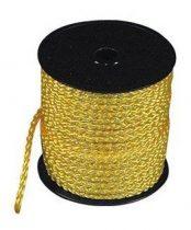 Sátorkötél ø 3 mm sárga, 50 m