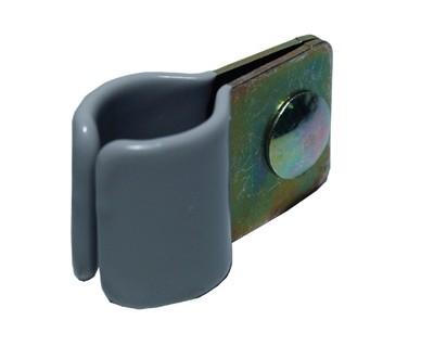 Csőbilincs szimpla gumis 25-28 mm, 5 db