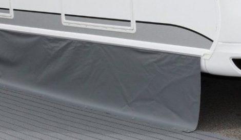 Standard lakókocsi szoknya sötétszürke, 400 x 50 cm