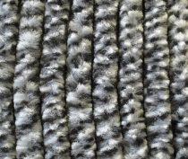 Arisol zsenilia függöny fekete-szürke-fehér,  56x185 cm
