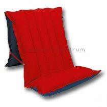 Felfújható matrac ülőfunkcióval piros/kék, 198 x 72 cm