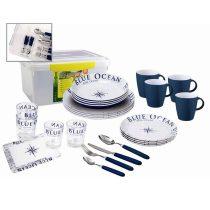 Brunner Blue Ocean 36+1 db-os ét- és evőeszközkészlet