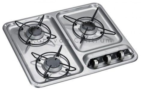 Dometic HB 3400 gázfőzőlap, 3 lángos