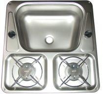 Dometic Mini-Kombi főzőlap-mosogató
