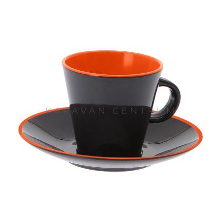 Gimex GreyLine 4 db-os eszpresszókészlet, Orange