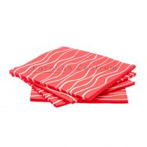 Gimex papírszalvéta, piros, 20 db