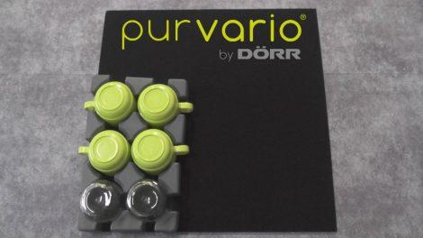 Purvario Vario System  velúr alaplap, 500x500 mm