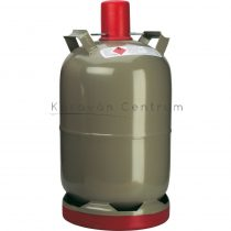 Acél gázpalack 11 kg-os, propángázzal töltve