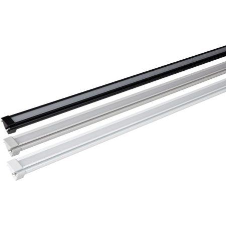 Thule 5200 szerelősín eloxált alu, 400 cm