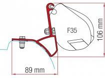 Fiamma F35 Pro adapter - Renault Trafic, Opel Vivaro 2015-
