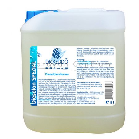 Dr. Keddo Diesolan Spezial tisztítószer, 5 liter