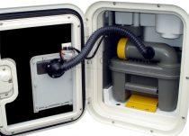 SOG 1 wc szellőztető Thetford C2/C3/C4 kazettákhoz, fehér
