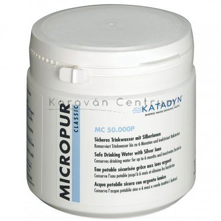 Katadyn Micropur® Classic MC 50000P vízfertőtlenítő és -tisztító por