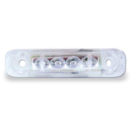 Jokon PL 24-2/12V fehér LED helyzetjelző lámpa
