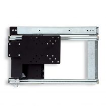 Oldalra kihúzható LCD-TV tartó 362 mm, balos