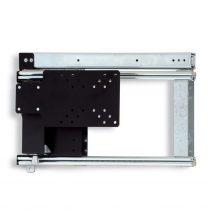 Oldalra kihúzható LCD-TV tartó 465 mm, balos