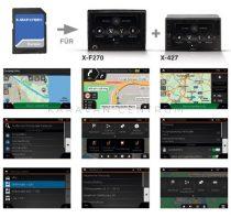 XZENT X-MAP27-MH1 lakóautós navigációs kártya