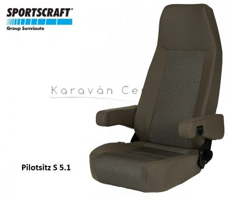 Sportscraft S  5.1 pilótaülés, Phoenix braun