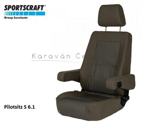 Sportscraft S  6.1 pilótaülés, Phoenix braun