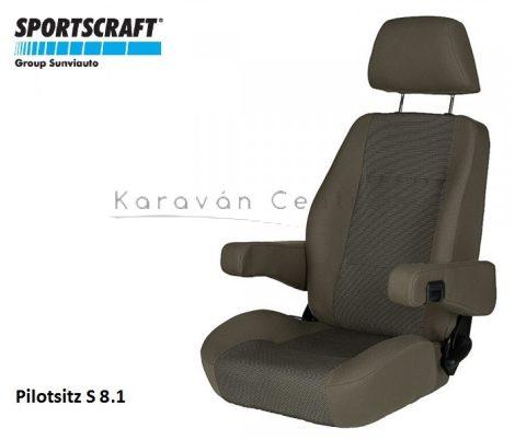 Sportscraft S  8.1 pilótaülés, Phoenix braun