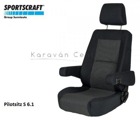 Sportscraft S  6.1 pilótaülés, Ara schwarz