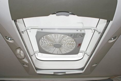 Fiamma Turbo-Kit 12 V-os ventilátor