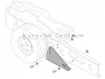 Truma Mover adapterkészlet ALKO Vario III/AV alvázhoz