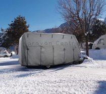 Caravan Cover 6M lakókocsi védőponyva, 750 cm
