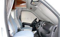 Hindermann Premio OV bézs thermopaplan szett, Fiat Ducato 2006-