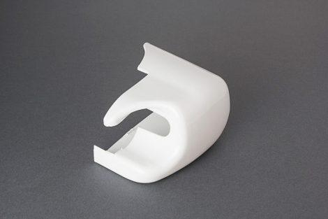 Fiamma F45i előtető végzáró burkolat jobbos, fehér