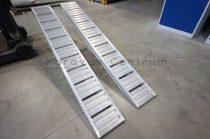 Alumíniumrámpa 2450 x 270 x 70 mm