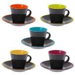 Csészék, csészealjak, bögrék
