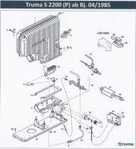 Truma S2200 fűtőberendezés alkatrészek